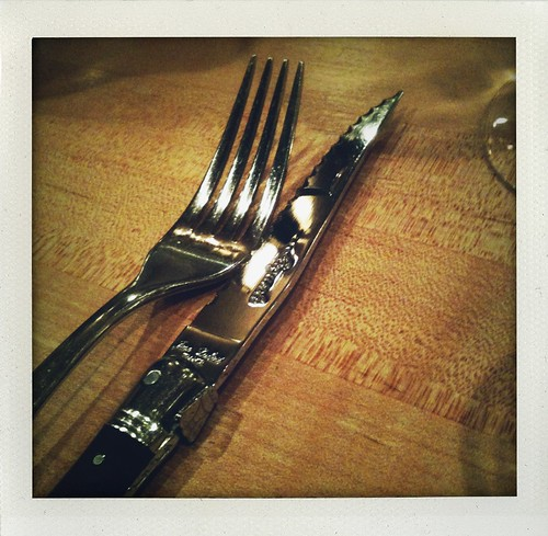 serious steak knife for the momofuku ssam rib eye