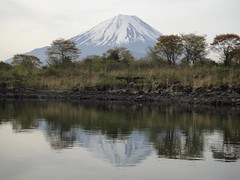 Fishing in Lake Syoji (Mt.Fuji) (peaceful-jp-scenery) Tags: lake japan landscape    mtfuji yamanashi syoji  dsct5