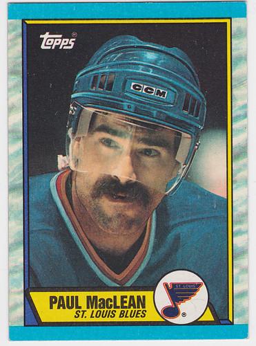 Paul MacLean 1989-90 front