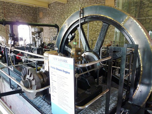 Petrie Steam Engine, New Lanark
