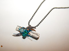 Messenger necklace (peskychloe) Tags: handmade jewellery independent copper lbc peskychloe lifesbigcanvas