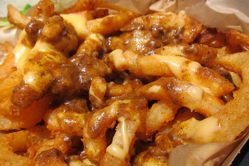 The Greasy Wiener: Chili Cheese Curly Fries