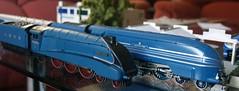 Streamliners (FrMark) Tags: blue train model britain engine steam moderne gb british locomotive mallard oo a4 00 streamline coronation lms lner 8p