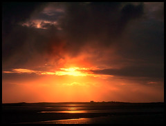North uist sunset (Clubley) Tags: sunset reflection scotland uist baleshare