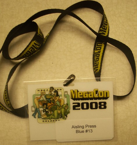 MegaCon Badge