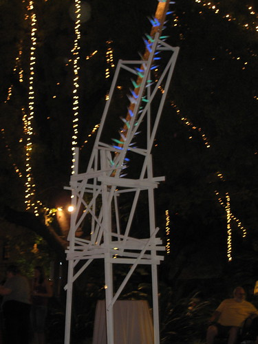 glow stick tower