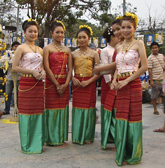 Traditional dress and sweet too