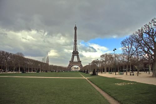 Campo de Marte y Torre Eiffel