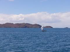 Lac Titicaca bateau peche