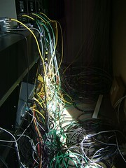 Wiring at the LifeChurch Internet Campus