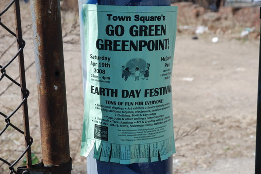Go Green Greenpoint Earth Day