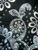 Detail silver symphony (Karen Cattoire) Tags: original blackandwhite abstract art handmade embroidery originalart creation fabric fiberart beading textileart tissu abstrait windmillsspirals textiledart karencattoire fibretextile arttexilte