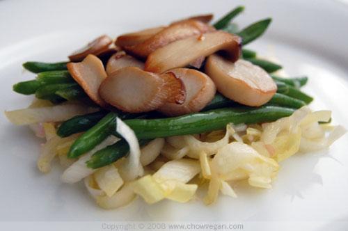 King Oyster Mushroom Salad