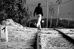 hUMAn - The man of a thousand places... (RiCArdO JorGe FidALGo) Tags: bw sintra pb human praiadasmas mywinners canoneos400d diamondclassphotographer fidalgo72 ilustrarportugal ricardofidalgo ricardofidalgoakafidalgo72