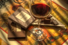 Wine & Chocolate HDR