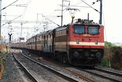 New Delhi - Bangalore Rajdhani Express (Saqib Karori - TucsonRailfan) Tags: ir trains nagpur indianrailways rajdhani ngp irfca wap4 sbcraj