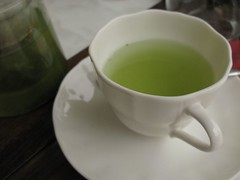 餐後飲料玄米茶