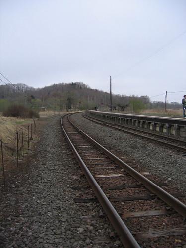 鐵軌總是很迷人~