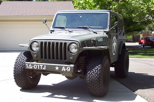 Custom 2001 Jeep Wrangler Military Project Jeepforum Com