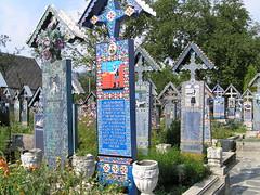 Merry Cemetery, Sapanta, Romania