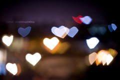 Lights Of Love (anish vishwanathan) Tags: india love colors night hearts lights bokeh anish lovebokeh abigfave canon400d heartbokeh 55250is