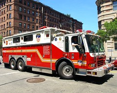 """R001s FDNY """"Spirit of Oklahoma"""" Rescue 1 Fire Truck, Upper West Side, New York City (jag9889) Tags: county city nyc rescue usa ny newyork west oklahoma truck fire 1 ebay spirit manhattan side 911 engine special company upper donation operations borough spare 2008 fdny department command firefighters bombing oklahomacity apparatus columbusavenue bravest rescue1 r001 spiritofoklahoma y2008 jag9889"""