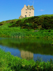 Fenton Tower (Gizmo_F) Tags: house tower art water landscape pond fuji photos fine kingston eastlothian landscape1 tcf s5600 worldbest wowiekazowie fentontower thechallengefactory gizf