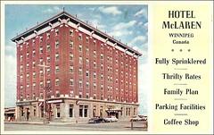 McLaren Hotel Postcard