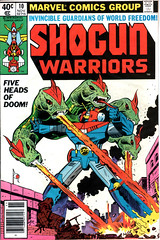 Shogun Warriors 10 (Todd Wilson) Tags: comics marvelcomics shogunwarriors