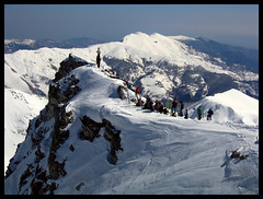 On the Top (Bonfab1976) Tags: italia neve alpi scialpinismo sci cuneese roccalamarchisa fabiobonino mountaisnaps