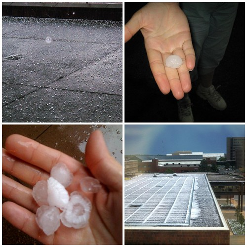 Hail in June