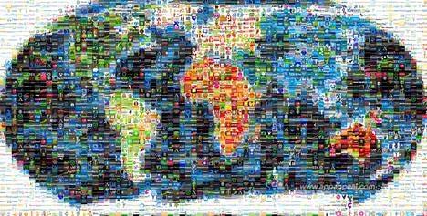 carte du monde web 2