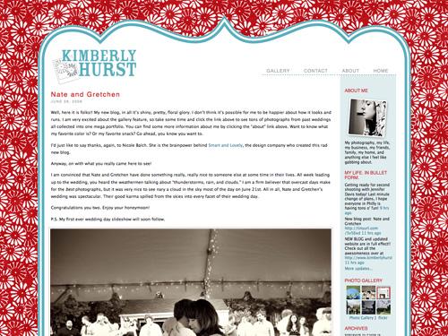 Kimberly Hurst's New Blog