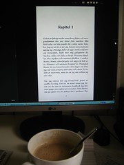 Coffee and e-book