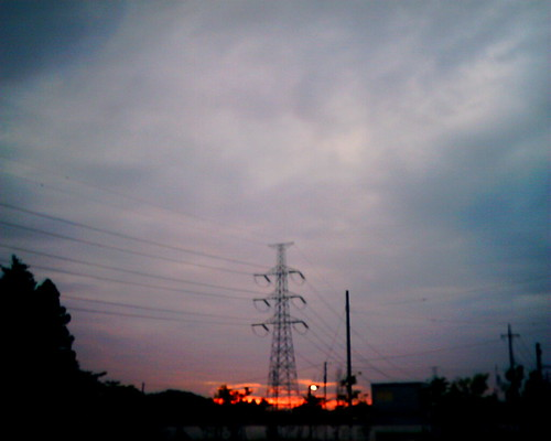 【写真】VQ1005で撮影した日没の空