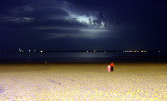 The Perfect Storm (Pablo101) Tags: longexposure france beach lowlight thunderstorm bayofbiscay