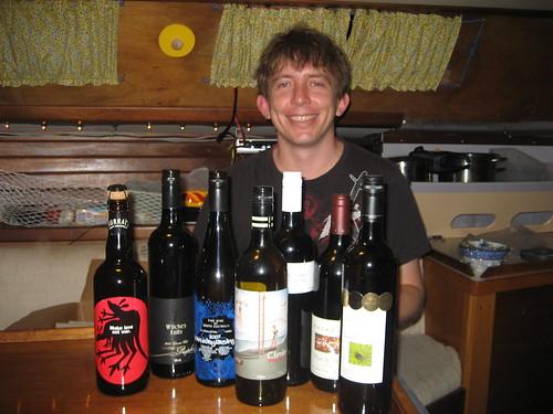Steve and wine