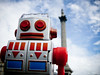 Robot in Trafalgar Square #1