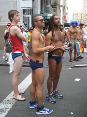 eye candy (chelseafb) Tags: nyc shirtless usa newyork men manhattan parade gaypride speedo orgullogay homen orgullo orghulo
