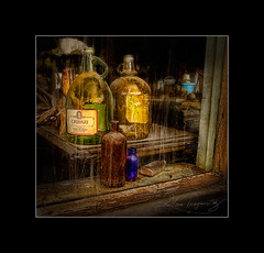 Golden  Memories (There is No Spoon Photography) Tags: window ghosttown canon400d tintic deepdarkrich