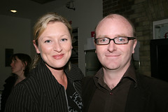 Amanda Coogan with Derek O' Connor