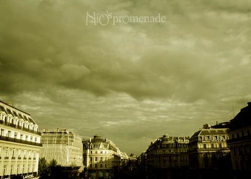 你拍攝的 L'Opera  Garnier。