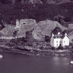 Strome castle BW thumbnail