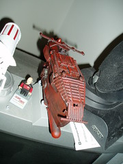 Red Thing top (casio_beatnik) Tags: starwars paint crap falcon scifi battlestar spaceships cylon kitbash