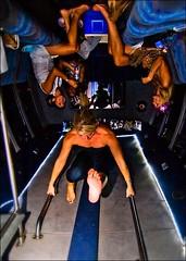 Girls Night Out (austinite) Tags: birthday blue girls dark fun upsidedown limo heel limousine girlsnightout crazyprocessing