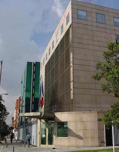 ambassade de france a bogota