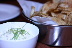 Gaufrette and Dip