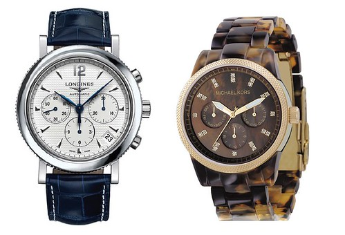 longines michael kors watches