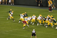 In the Red Zone (Photography by Kimberli) Tags: football packers greenbay