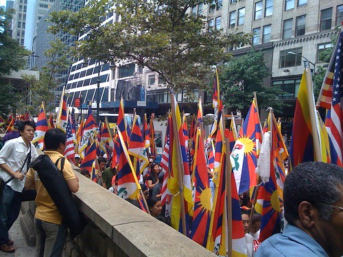 Free Tibet Protest in NYC